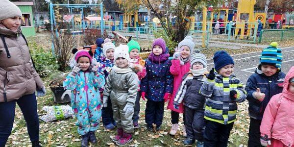 """Наш детский сад принял участие во всероссийской акции """"День урожая"""""""